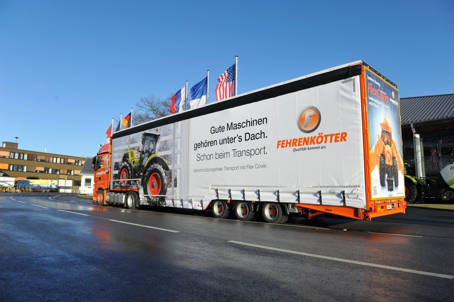 Beliebt Bevorzugt Fehrenkötter Transport & Logistik GmbH: Landmaschinen-Transporte #KL_86
