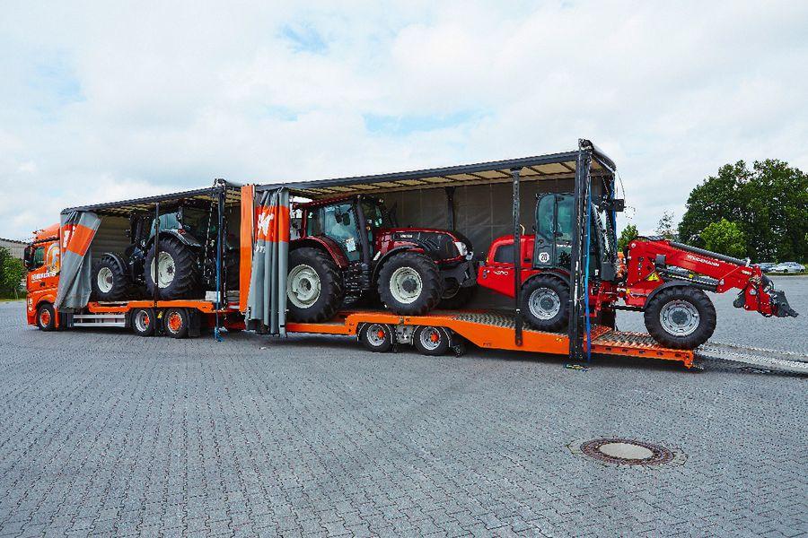 Atemberaubend Fehrenkötter Transport & Logistik GmbH: Landmaschinen-Transporte @JB_98