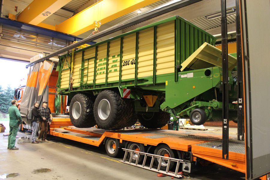 Außergewöhnlich Fehrenkötter Transport & Logistik GmbH: Landmaschinen-Transporte #ST_36