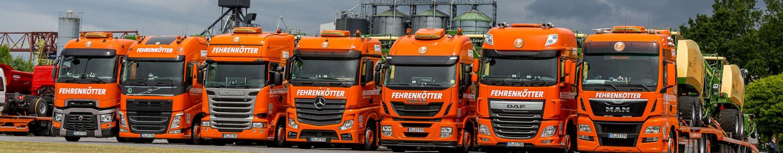 Berühmt Fehrenkötter Transport & Logistik GmbH: Landmaschinen-Transporte @WS_16