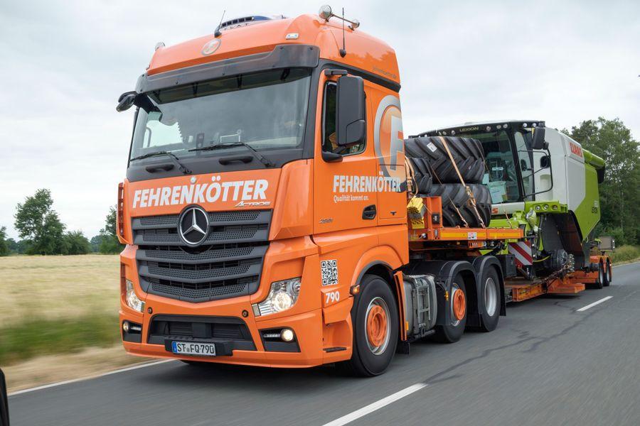 Berühmt Fehrenkötter Transport & Logistik GmbH: Landmaschinen-Transporte #EH_79